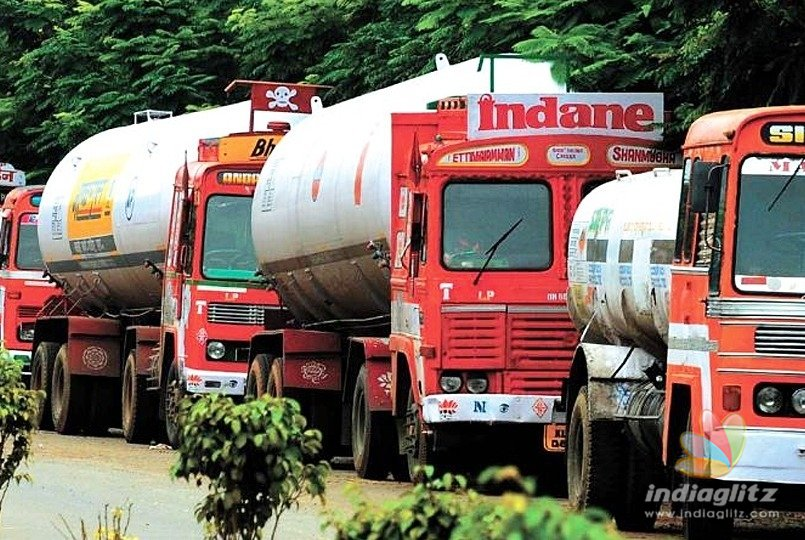 Tanker lorries' strike might cause shortage of LPG cylinder supply