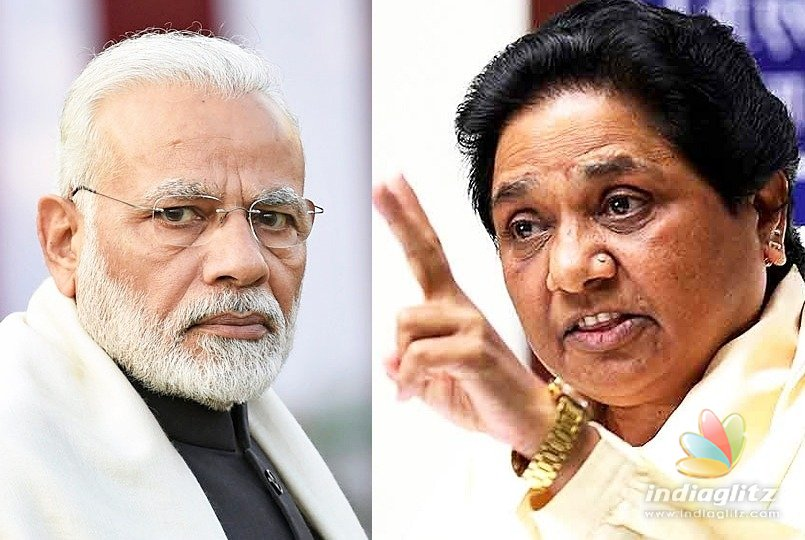Mayawati questions PM's silence on atrocities against Dalits