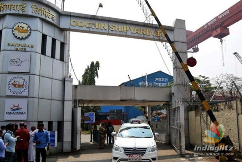 Acetylene leak caused Cochin Shipyard blast