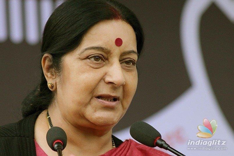 Sushma Swaraj visits Saudi king; discusses bilateral relations with India