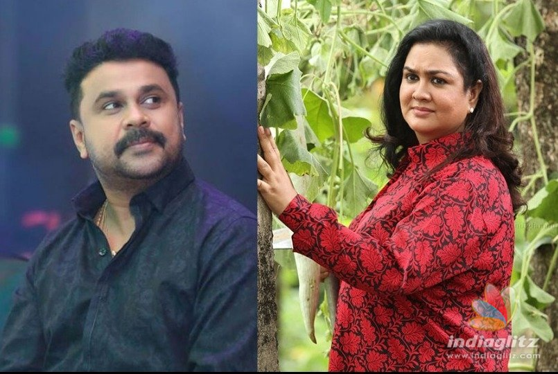 Dileep, Urvashi to play lead in upcoming film...