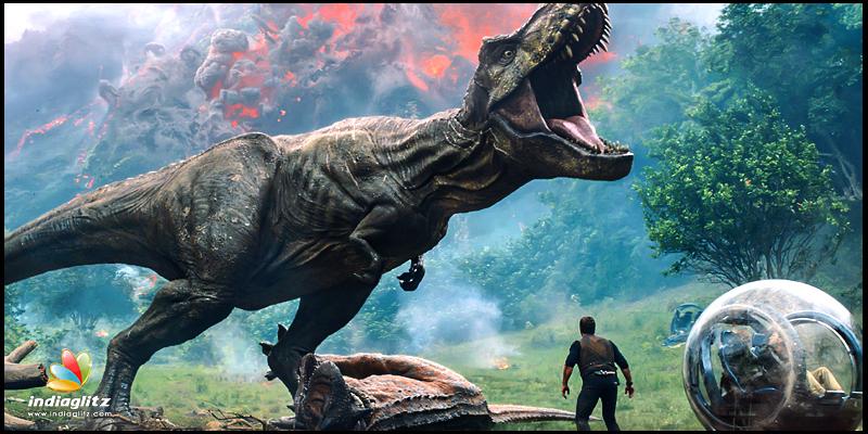 Jurassic World Fallen Kingdom Telugu Movie Preview Cinema Review