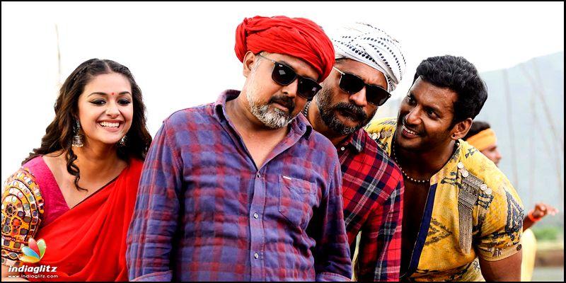 Sandakozhi 2 review Vishal Varalakshmi Sarathkumar Keerthy Suresh N Linguswamy