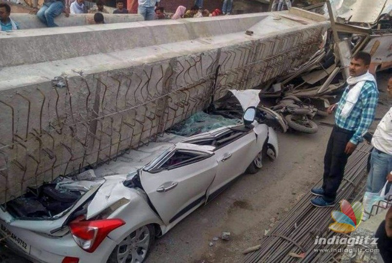 18 dead as under construction flyover collapses