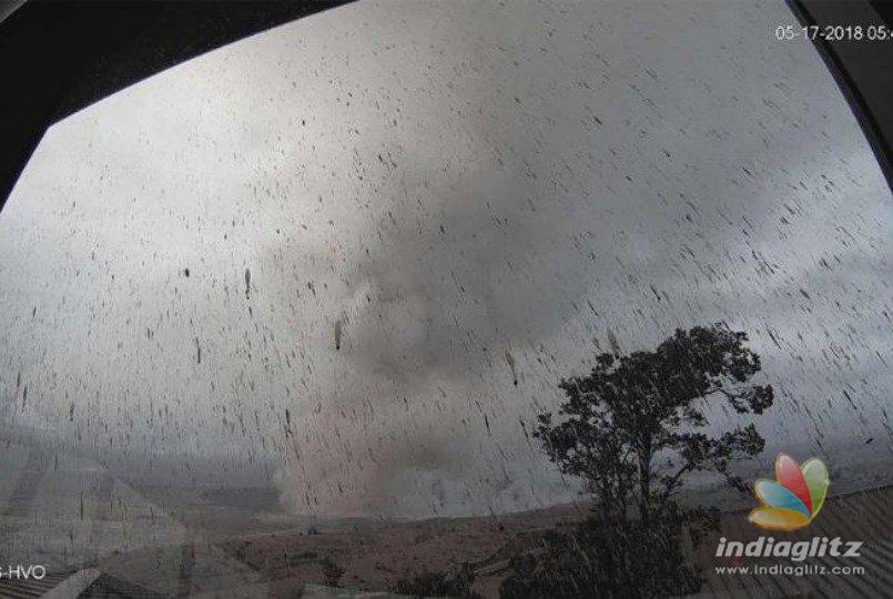 Explosive eruption in Hawaii prompts ashfall advisory