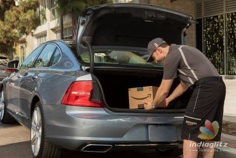 Amazon to Offer Package Delivery in Your Car