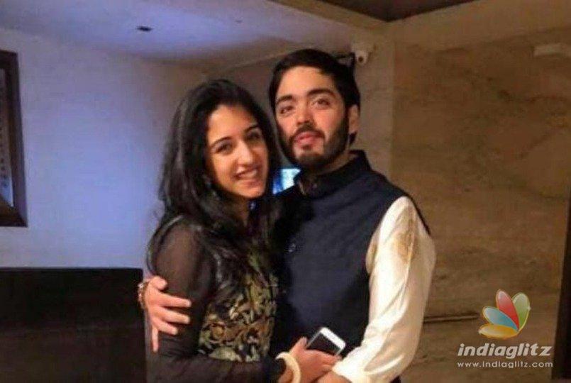 Engagement of Mukesh Ambanis so