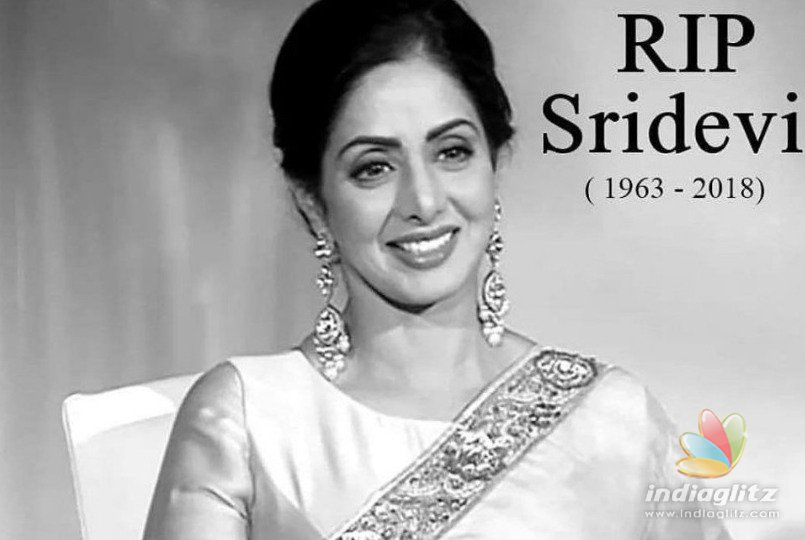 Sridevi death: Andhra MP demands Dadasaheb Phalke Award to the deceased actress