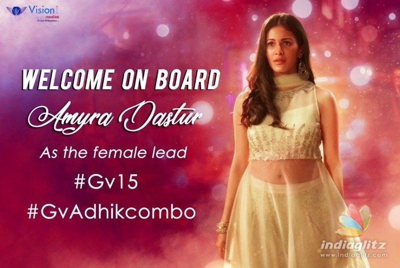 A Hot heroine signs G.V.Prakash -Adhik Ravichandran movie