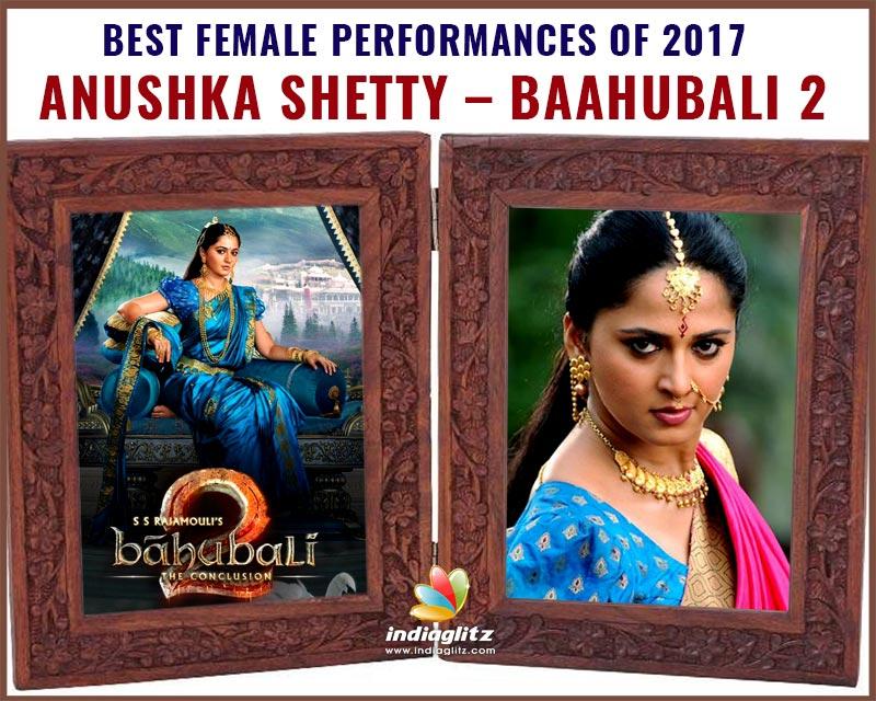 Anushka Shetty - Baahubali 2