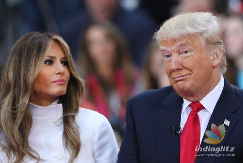 Donald Trump returns to Walter Reed to visit first lady