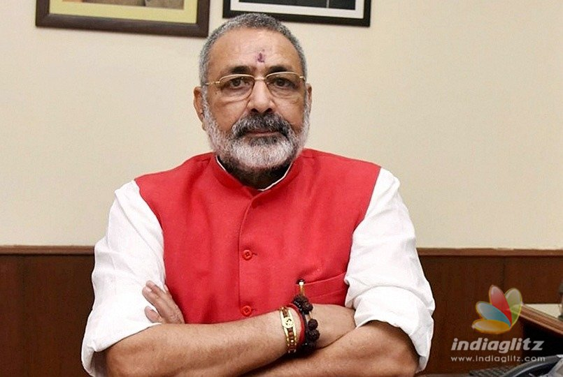 Land-grab case filed against Union Minister Giriraj Singh