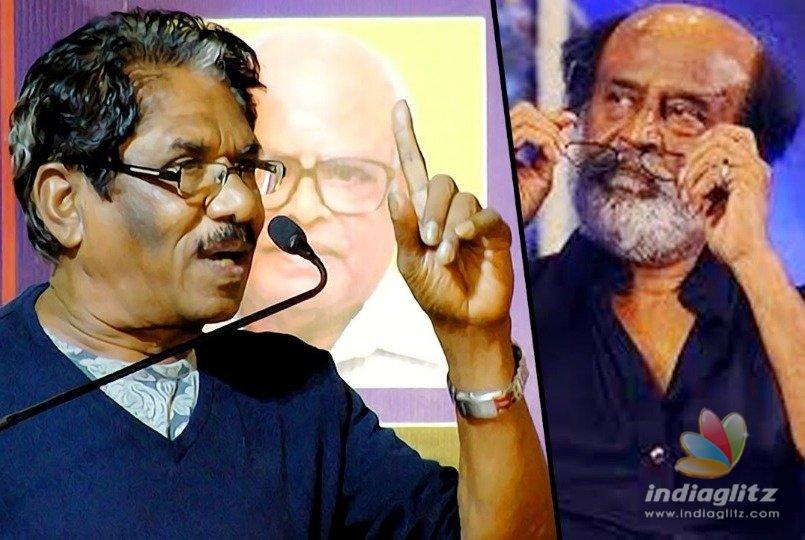 Bharathiraja slams Rajinikanth calling him the saffron ambassador of Karnataka