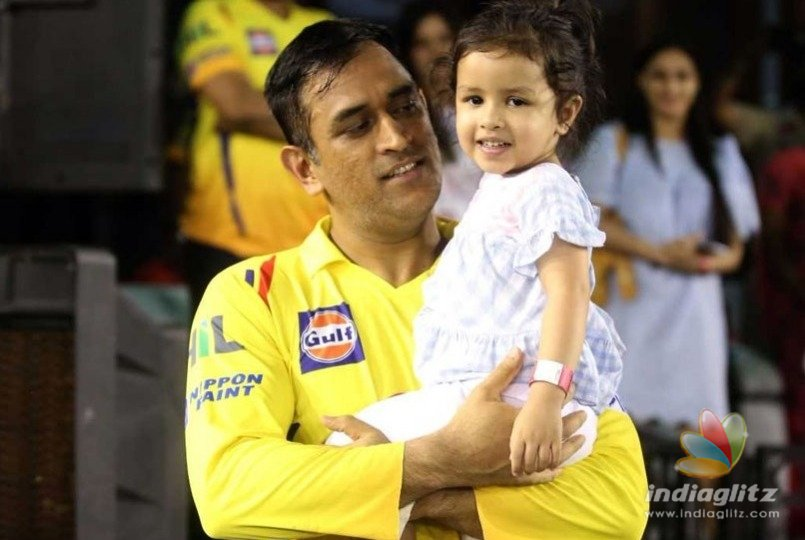 A heartwarming gift for MS Dhoni and daughter from ground staff