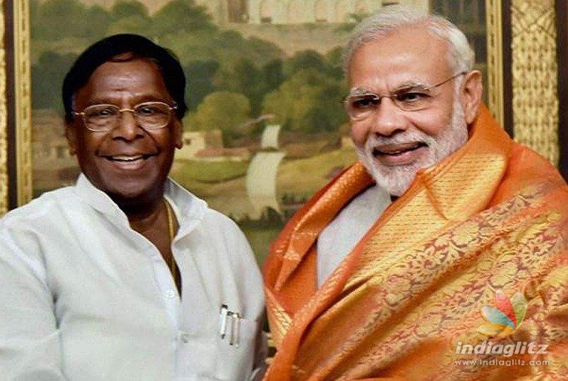 Puducherry awaits, to listen to Prime Minister Narendra Modi