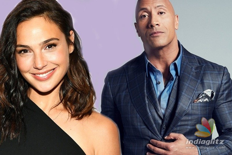 Gal Gadot and Dwayne 'The Rock' Johnson Are Doing a Movie Together