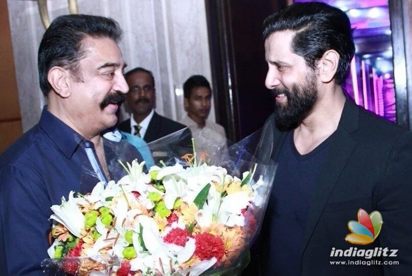 Kamal Haasan & Vikram to collaborate