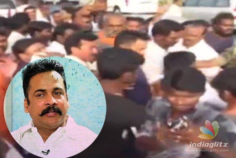 BJP activists attack Shivaji