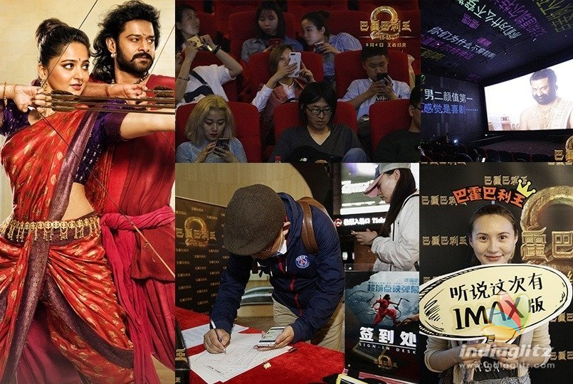 Baahubali 2 takes a strong start in China