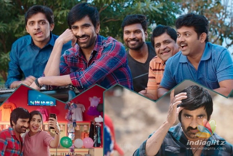 Ravi Teja Nela Ticket Movie Official Trailer Out