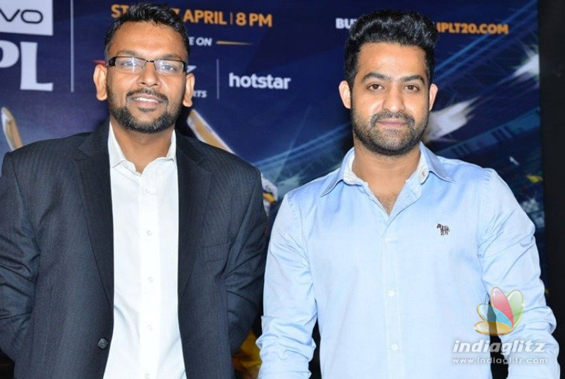 Jr NTR on being chosen as IPL's Telugu ambassador