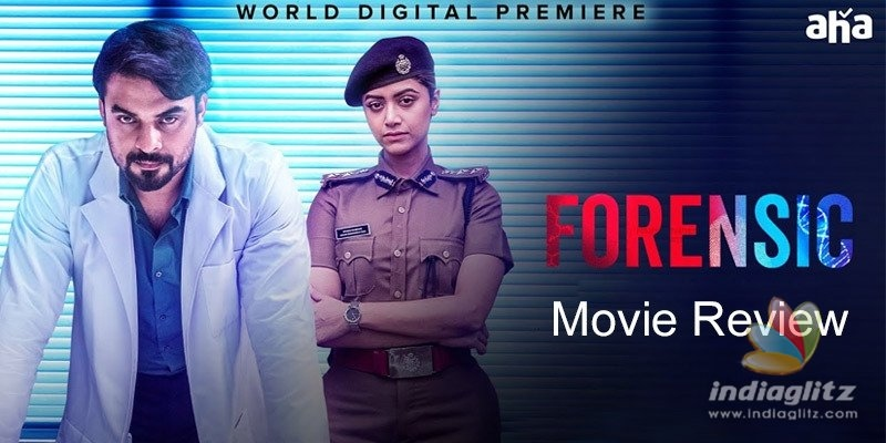 Forensic Review Forensic Telugu Movie Review Story Rating Newslagoon